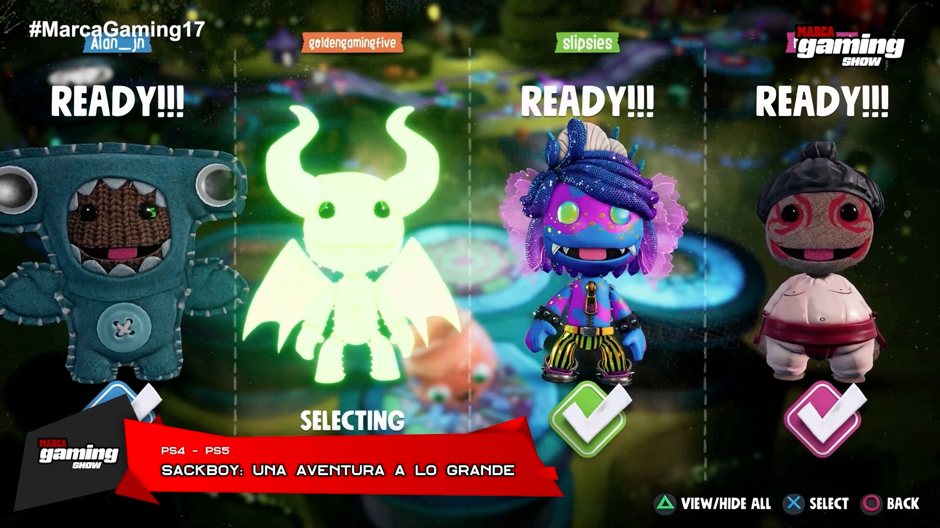 Sackboy: Una Aventura a lo Grande (PS4 - PS5)