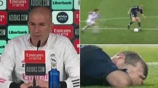 """Zidane, sobre su mítica ruleta contra el Valladolid: """"No fue una buena jugada..."""""""