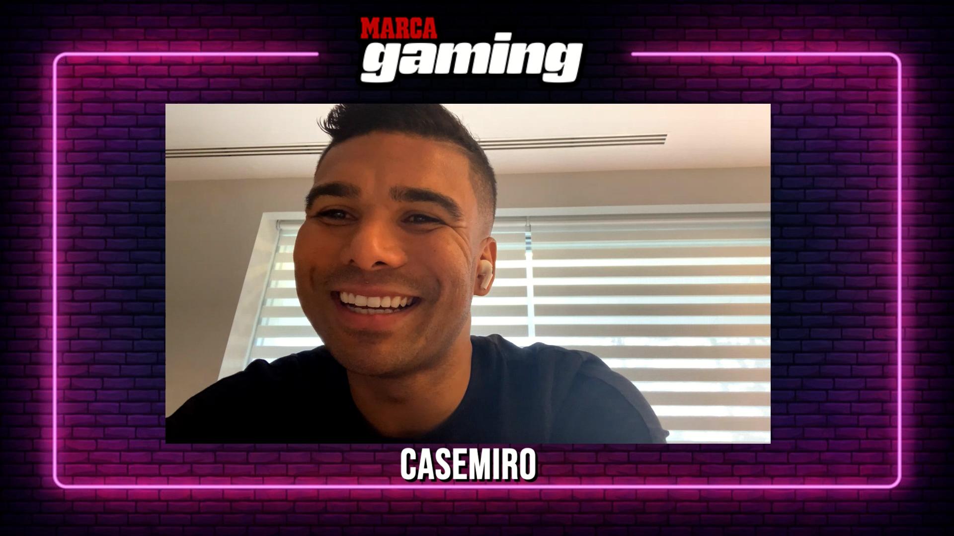 Entrevista a Casemiro en MARCA Gaming