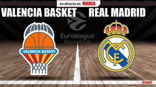 Valencia Basket Real Madrid directo euroliga baloncesto 2021