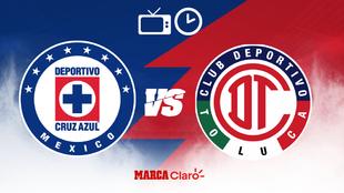 ¿Cómo, cuándo y dónde ver por TV el Cruz Azul vs Toluca de la Liga...