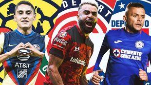 Hasta cuatro equipos pelean por el liderato del Clausura 2021.