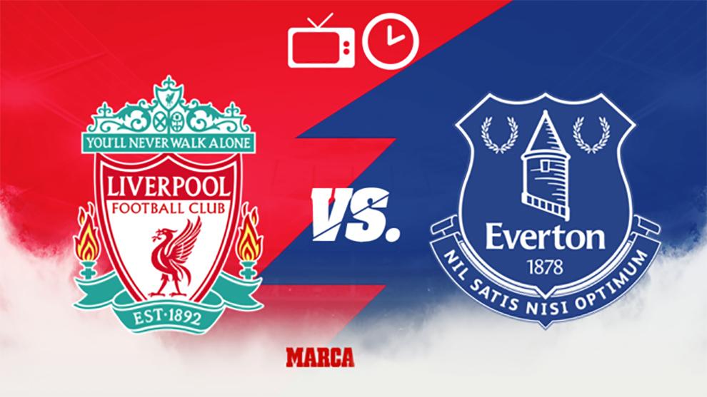 Liverpool - Everton: Horario y dónde ver en TV el partido de la Premier