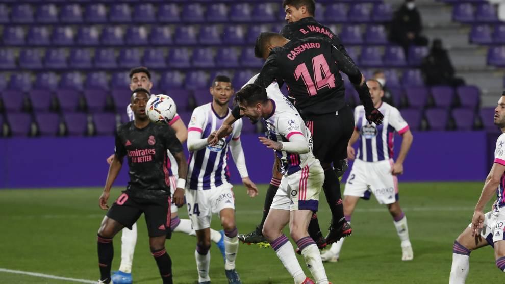 Casemiro heads the winner