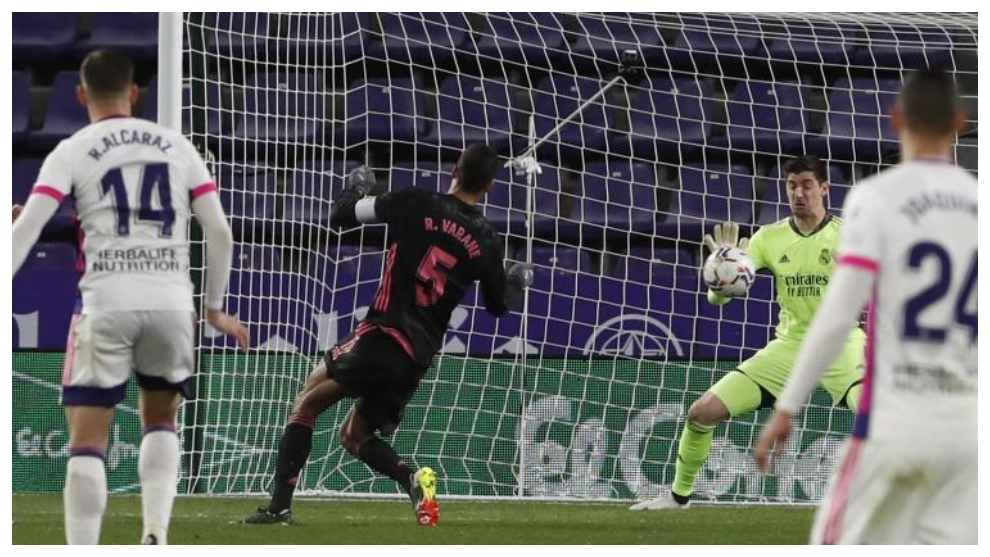 Courtois has been the hero of Real Madrid's comeback
