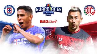 Cruz Azul vs Toluca en vivo minuto a minuto - Liga mexicana Clausura...