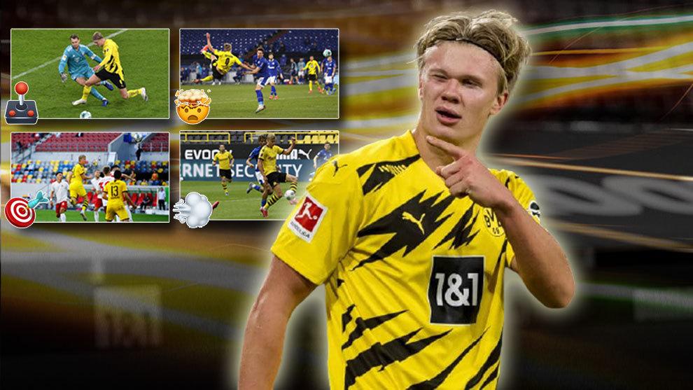 Los ocho golazos de Haaland en la Bundesliga: ¿cuál crees que es el mejor?