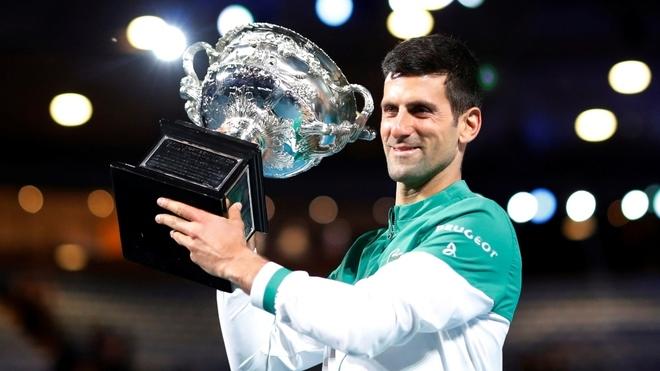 Djokovic se consagró campeón del Abierto de Australia por novena vez