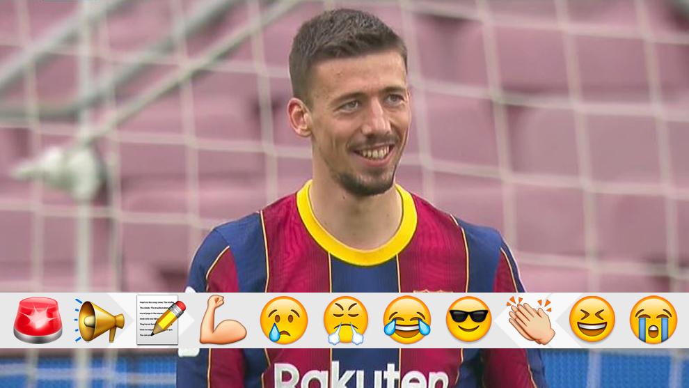 Lenglet makes life difficult for Barcelona... again