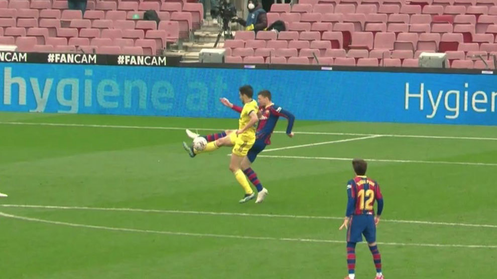 Controversy in Barcelona vs Cadiz: It's a clear kick, a well-awarded penalty