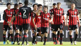 Eintracht Frankfurt venció al Bayern Munich en la Jornada 22 de la...