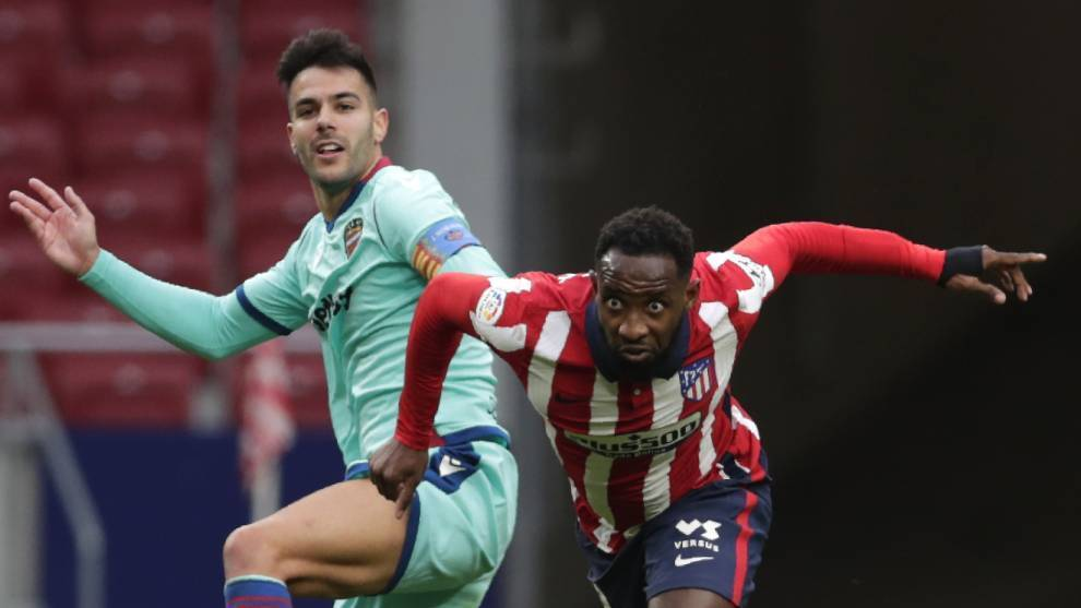 Moussa Dembele against Levante