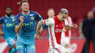 Ajax venció al Sparta con Edson Álvarez actuando de titular. |