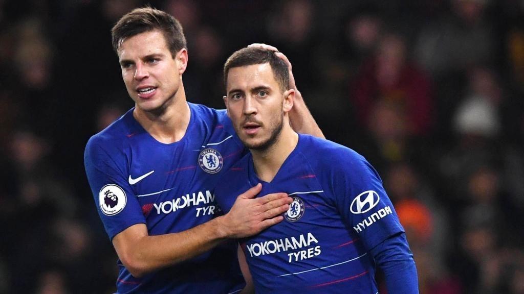 Azpilicueta: Despite the kicks he took, Hazard was always available at Chelsea