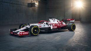 Así es el Alfa Romeo C41 que pilotarán Raikkonen y Giovinazzi.
