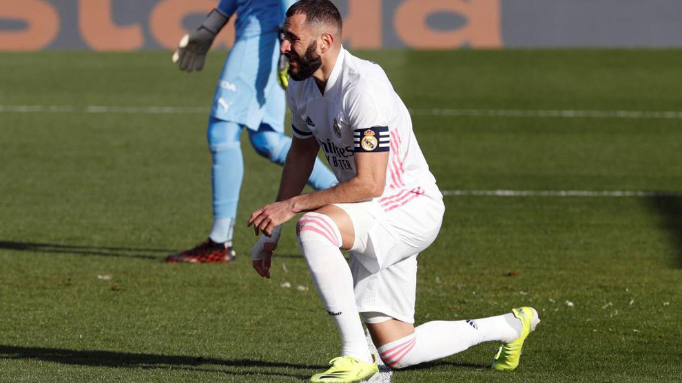 Benzema to miss Atalanta match: Real Madrid will travel with a squad of just 23 goals