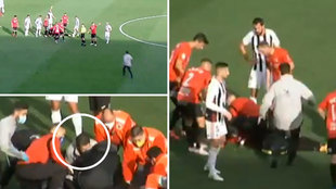 Un héroe en el banquillo: el entrenador del Badajoz auxilió a un jugador rival