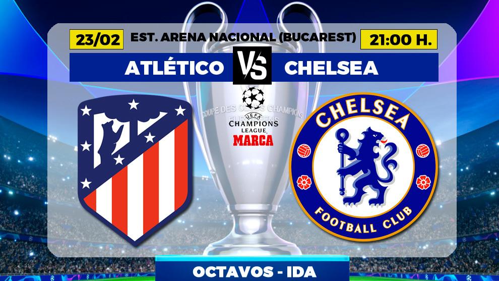 Atletico de Madrid - Chelsea Champions League