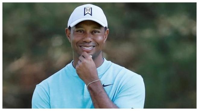 Tiger Woods en Augusta, en 2019.