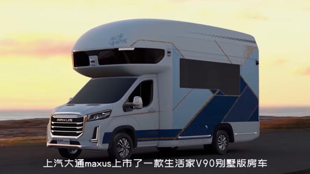 La Maxus Life Home V90 Villa Edition parace una autocaravana normal.