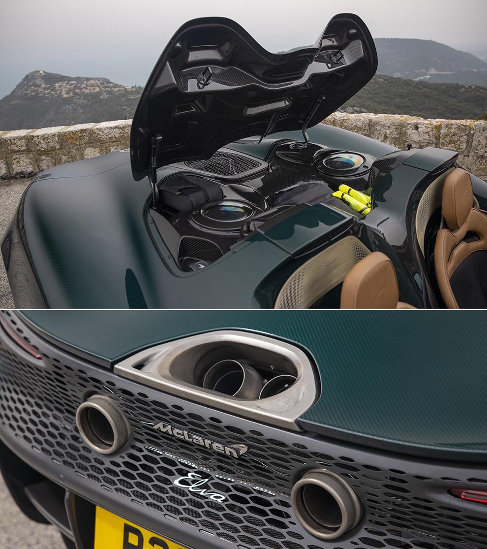 Prueba del McLaren Elva