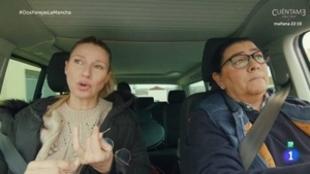 Anne Igartiburu habl con María del Monte en  'Dos parejas y un...
