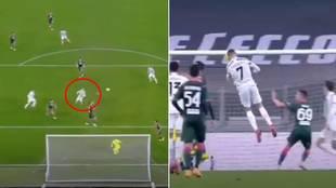 Otro vuelo sin motor de Cristiano Ronaldo: ¿puede parar alguien sus saltos?
