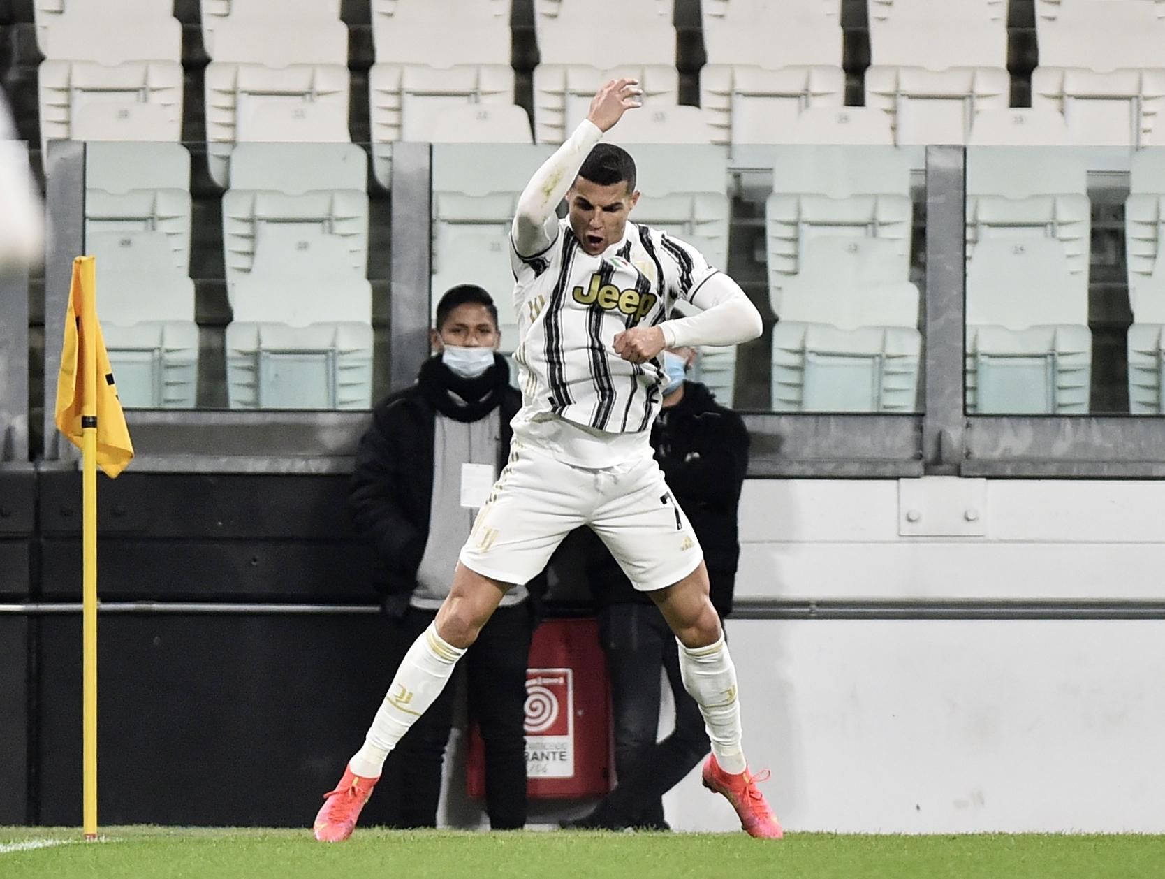 Cristiano Ronaldo mete a la Juventus en el tercer sitio de la Serie A