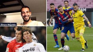 """Negredo soñaba con Pepe y Ramos... pero su rival más duro vestía de azulgrana: """"¡Un avión!"""""""