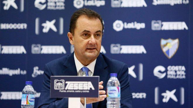 José María Muñoz, administrador concursal del Málaga.