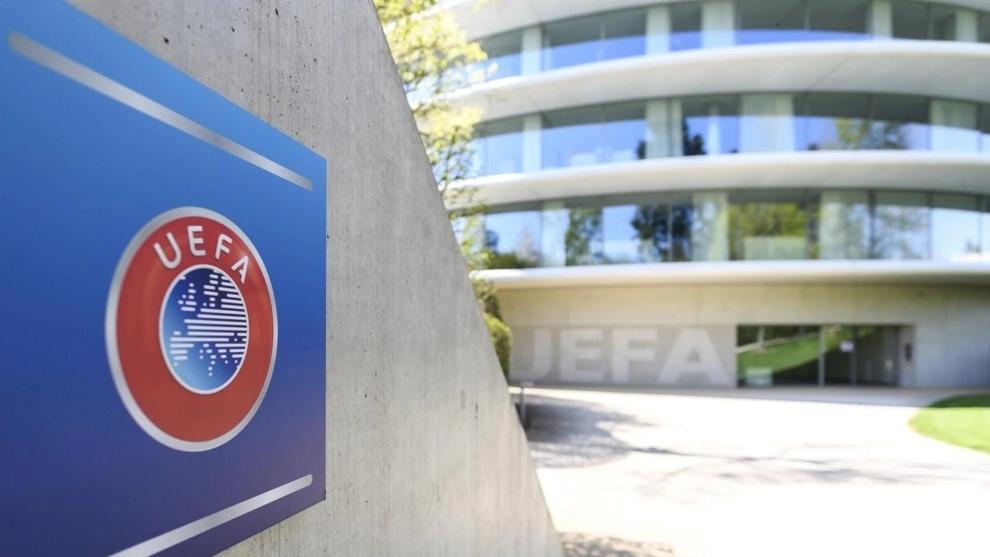 Imagen de la sede de la UEFA