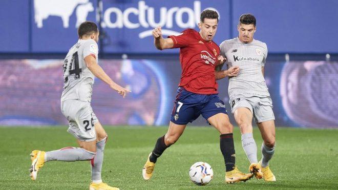 Jony, durante un partido contra el Athletic.