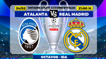 Atalanta - Real Madrid: horario, canal y dónde ver en TV hoy el partido de octavos de Champions
