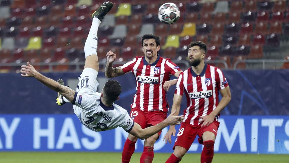 El Atlético se queda fuera de juego