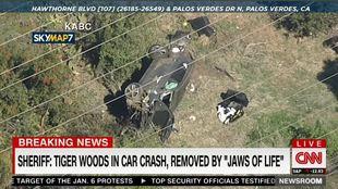 Tiger Woods, herido en un accidente de coche: está siendo operado