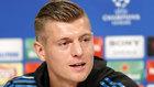 Toni Kroos, durante la rueda de prensa