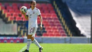 Kenti Robles busca que se hable más del fútbol femenil mexicano.