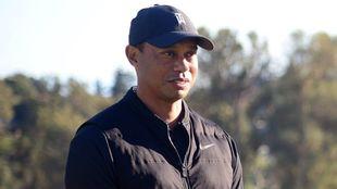 Tiger Woods, estable tras incidente.