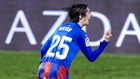 Bryan Gil (20) celebra un gol con el Eibar.