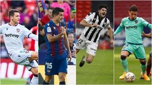 Cuatro jugadores del Levante lesionados en el momento clave de la...