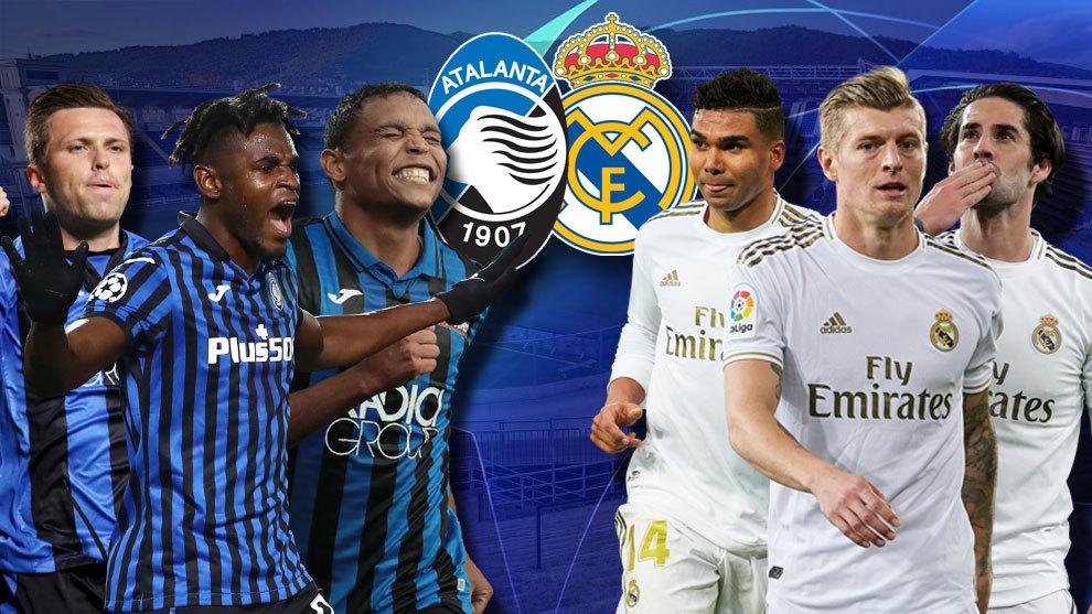 Xem lại bóng đá Atalanta vs Real Madrid, Champions League – 25/02/2021