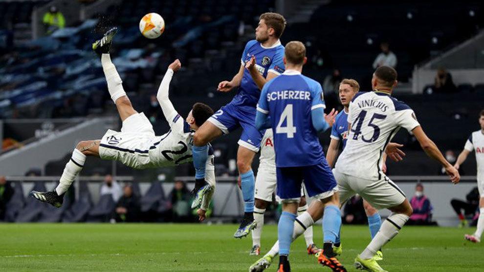 Tottenham-Wolfsberger AC, en directo: golazo de Dele Alli