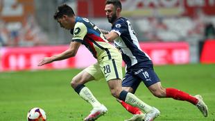 América y rayados se enfrentaron a inicio de año en Monterrey.