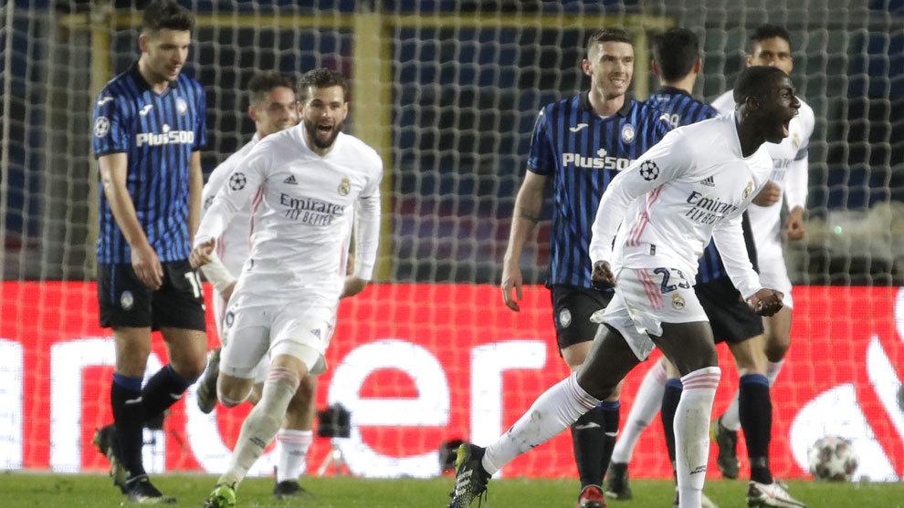 Mendy nudges Real Madrid towards the quarter-finals