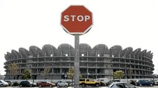 Se cumplen 12 años de las obras paralizadas del nuevo Mestalla.