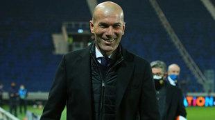 Real Madrid Champions Zidane Mendy