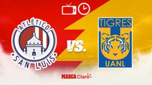 Atlético San Luis vs Tigres: Horario y dónde ver en vivo.