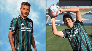 Jorge Campos es la imagen de la nueva camiseta del Galaxy