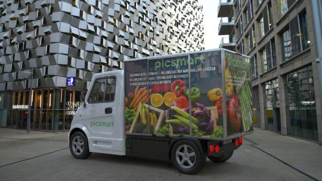El Inzile Pro4 Van está pensado para el reparto a domicilio en el centro de las ciudades.