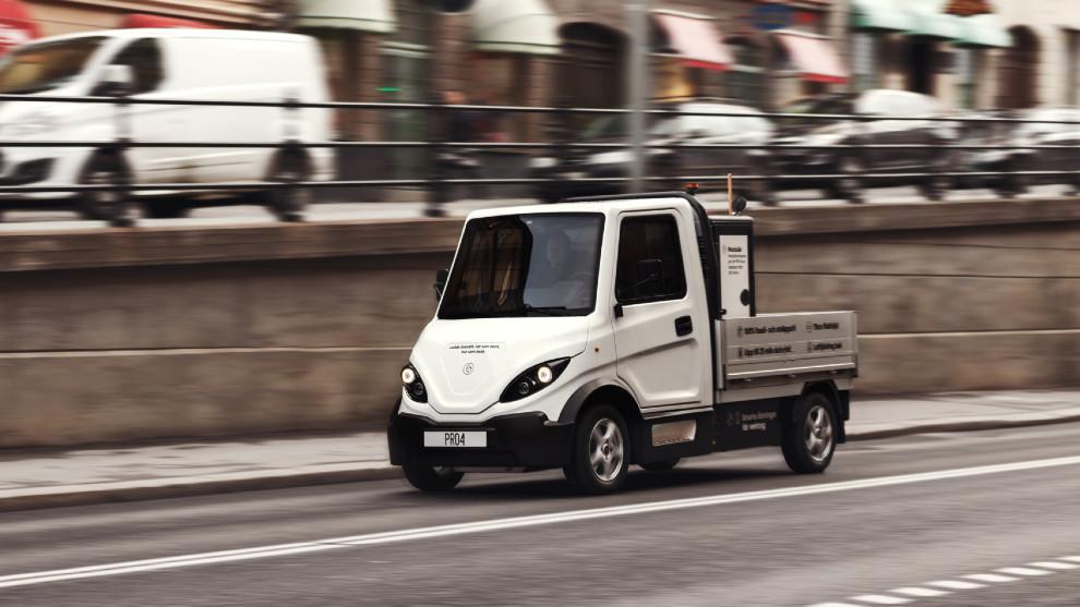 El Inzile Pro4 Work tiene una capacidad de carga de 1.000 kg y hasta 240 km de autonomía.